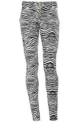 Freddy Wr.Up Shapping Effect Low Waist Skinny Animal Print WRUP1LHD4E