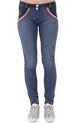 Freddy Wr.Up. Skinny Regular Rise Embroidered WRUP1RF802