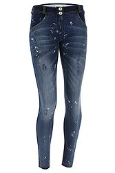 Freddy Wr.Up Regular Rise Skinny Fit Distressed Denim WRUP1RF806