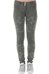 Freddy Wr.Up. Skinny Regular Rise Biker-Style With Paisley Print WRUP1RF815
