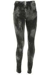 Freddy Wr.Up. Skinny Regular Rise Drip-Effect Camouflage WRUP1RF834