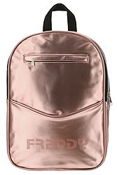 Freddy Metallic faux leather backpack PUPACKSG