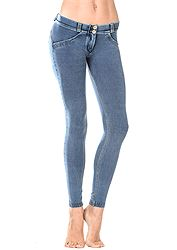 Freddy Wr.Up Denim Slounge Lungo Low Waist Skinny WRUP1LA1E