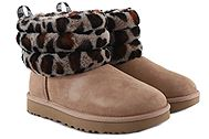 Ugg Australia Fluff Mini Quilted Leopard 1105358