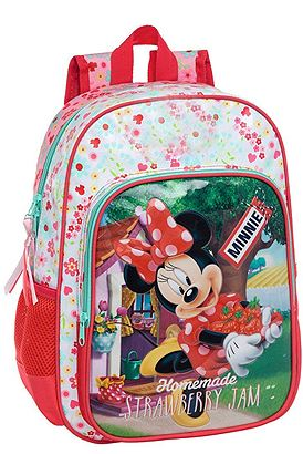 beb8ac77d4d Σχολική Τσάντα Disney Minnie Strawberry Jam | Z-mall.gr