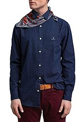 Gant Indigo Window Pane Reg 3028730