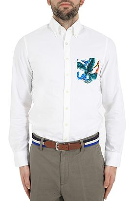 Gant Beach Oxford Pock Print 3G347852