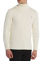 Gant Cotton Cable Turtle Neck 8050507