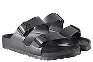Birkenstock Arizona Eva Metallic Anthracite 1001498