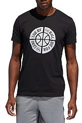 adidas Live by Ball Graphic Tee DU6448