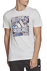 adidas Doodle Badge of Sport Tee FN1752