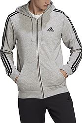 adidas Essentials French Terry 3-Stripes Full Zip GK9034