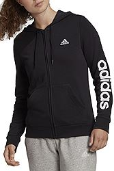 adidas Essentials Logo Full-Zip Hoodie με κουκούλα GL0791