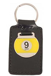 Joba Δερμάτινο 9 Ball keyhanger-leather-9