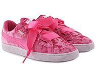 Puma Basket Heart Velour (No 28-35) 367625