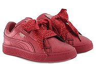Puma Basket Heart Holiday Glamour (No 28-35) 367631