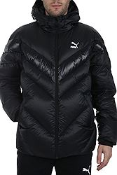 Puma MCS Shiny Hooded Puffer Down 595283