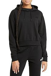 Puma ESS+ Embroidered Cropped Hoodie FL 587902