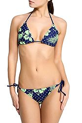 Puma Fun Flowers Triangle Bikini 512424
