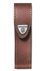 Victorinox Leather Pouch, Brown 4.0547