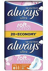Always Sensitive Ultra Normal Plus Economy 20 τεμ 4015400213932