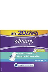 Always Dailies Normal Camomile 40+20τεμ Δώρο 4015400713531