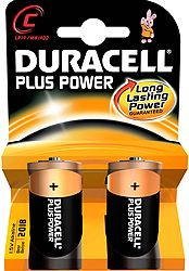 Duracell Plus Power C 5000394019089