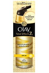 Olay Total Effects 7in1 Moisturiser + Serum Duo SPF15 40ml 5410076979134