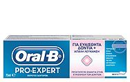 Oral B Pro Expert Sensitive & Whitening 75ml 5410076960507