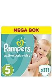 Pampers 111 τεμ No 5 (11-18 kg) 4015400265016