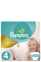 Pampers 104 τεμ Νο 4 (8-14 kg) 4015400465447