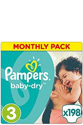 Pampers Monthly Pack Midi 198τεμ Νο 3 (4-9kg) 4015400566663