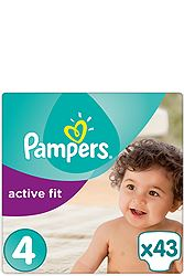 Pampers Maxi 43τεμ No 4 (8-16 kg) 4015400619604