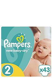 Pampers 43 τεμ Νο 2 (3-6 kg) 4015400704294