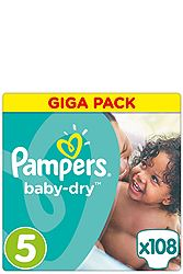 Pampers Junior 108τεμ  Νο 5 (12-18 kg) 4015400834410
