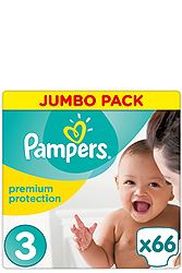 Pampers Midi 66τεμ Νο 3 (5-9kg) 4015400849193