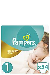Pampers Newborn 54 τεμ Νο 1 (2-5 kg) 8001090379429