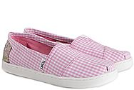 Toms Pink Gingham 10007439