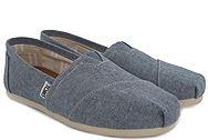 Toms Blue Slub Chambray 10009752