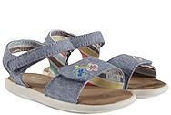 Toms Strappy Blue Multi Speckle Chambray 10009803