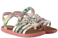 Toms Huarache Pink Tropical Palms 10010031