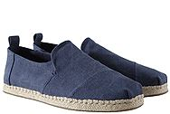 Toms Alpargata Deconstructed Navy Washed 10011623
