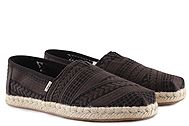 Toms Black Arrow Embroidered Mesh 10015472