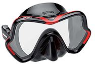 Mares One Division Black-Red 411046