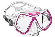 Mares Ridley Mask Clear-Pink 411263