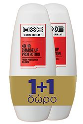 Axe Adrenaline 48hr Protection 50ml 1+1 Δώρο 8710908614071