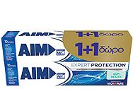 Aim Expert Protection Gum 75ml 1+1 Δώρο 8710908095825