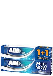 Aim White Now 75 ml 1+1 Δώρο 8710908287510