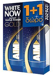 Aim White Now Gold 50ml 1+1 Δώρο 8710908288074