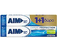 Aim Expert Protection Pure Breath 75ml 1+1 Δώρο 8710908706462